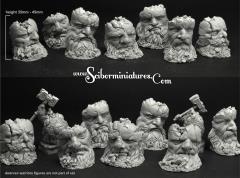 Dwarven Stone Heads