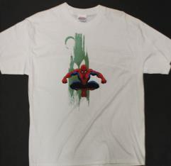 Spider-Man w/Green Goblin Background T-Shirt (L)