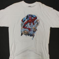 Spider-Man Webbing Criminals T-Shirt #2 (XL)