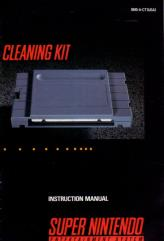 SNES Cleaning Kit Instruction Manual