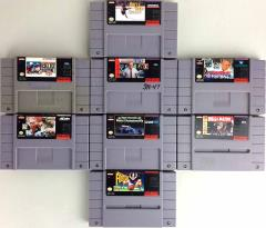 Super Nintendo Sports Collection - 8 Games!