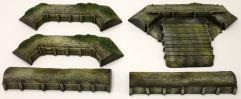 Raised Artillery Corner w/Walls #1