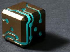 Bronze w/Blue Glow (2)
