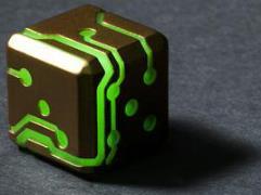 Bronze w/Green Glow (2)
