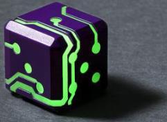 Purple w/Green Glow (2)