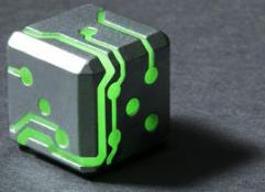 Silver w/Green Glow (2)