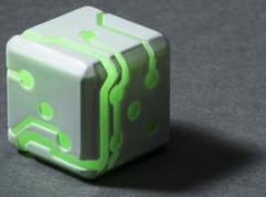 White w/Green Glow (2)