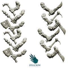 Hands w/Close Combat Weapons - Orcs