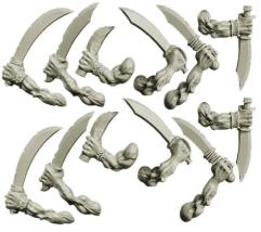 Hands w/Sabers - Freebooters Orcs