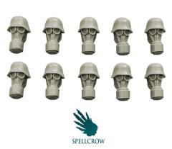 Heads w/Gas Masks - Blitzkrieg Guards
