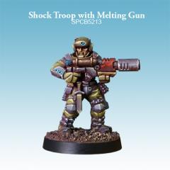 Shock Troop w/Melting Gun