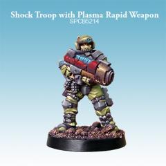 Shock Troop w/Plasma Rapid Weapon