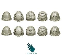Shoulder Pads - Version 1, Changed Knights
