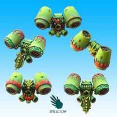 Jump Packs - Salamander or Dragon Space Knights