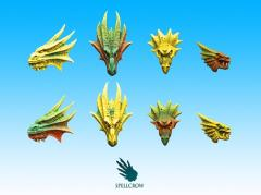 Icons - Salamanders or Dragons