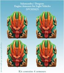 Engine Armours for Light Vehicles - Salamandra/Dragons