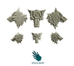 Wolves Heads Icons