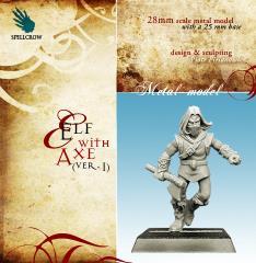 Elf w/Axe #1