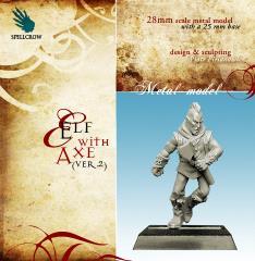 Elf w/Axe #2