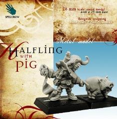 Halfling w/Pig
