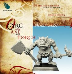 Orc w/Axe & Torch