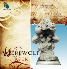 Werewolf on Rock