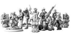 Federal Infantry Expansion Set