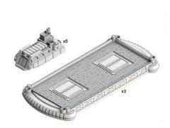 Landing Platforms & Barge Set