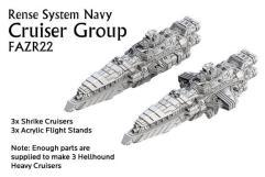 Rense System Navy - Cruiser Group