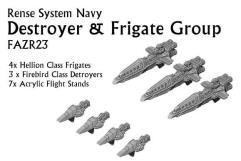Rense System Navy - Destroyer & Frigate Group