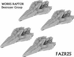 Works Raptor Destroyer Group