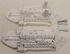 Shroud Mages Battleships (1st Printing) 2-Pack #1