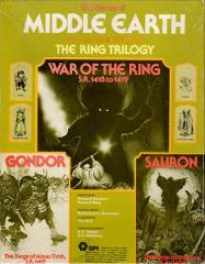 Middle Earth Trilogy - War of the Ring, Gondor & Sauron