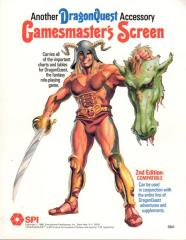 Gamesmaster's Screen (2nd Edition)