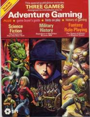 Adventure Gaming - The Creature that Ate New York, Napoleon at Waterloo, RPG - Tower of Azann
