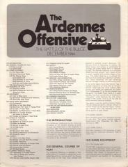 Ardennes Offensive, The