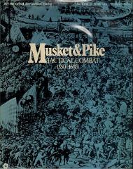 Musket & Pike (Plastic Flat Tray)