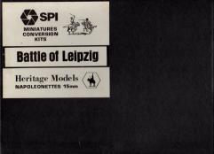 SPI Miniatures Conversion Kit - Battle of Leipzig