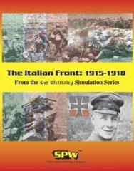 Italian Front 1915-1918, The (1st Edition)