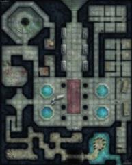 """Flip-Mat - Dungeon - 24"""" x 30"""" 1"""" Squares"""