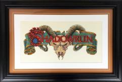 Shadowrun Original Logo Artwork