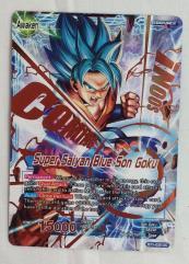 Super Saiyan Blue Son Goku Promo Card