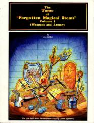 Tome of Forgotten Magical Items, The #1 - Weapons and Armor
