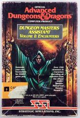 "Dungeon Master's Assistant #1 - Encounters (C64/128 5 1/2"")"
