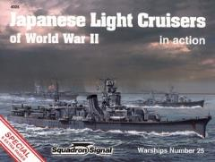 Japenese Light Cruisers of World War II in Action