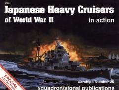 Japense Heavy Cruisers of World War II in Action