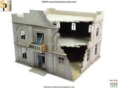Hotel /Admin Building - Destroyed