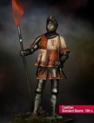 Castilian Standard Bearer, 15th Century