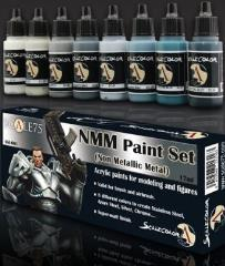 Non-Metallic Metal - Steel Paint Set