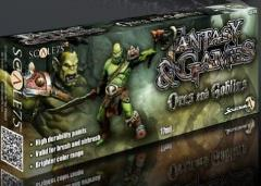 Fantasy & Games Range - Orcs and Goblins Paint Set